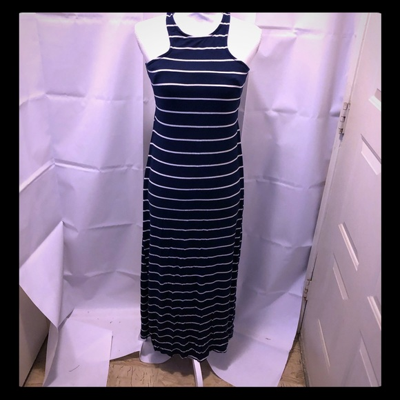 Rolla Coster Dresses & Skirts - Rolla Coster blue&white striped maxi dress in EUC